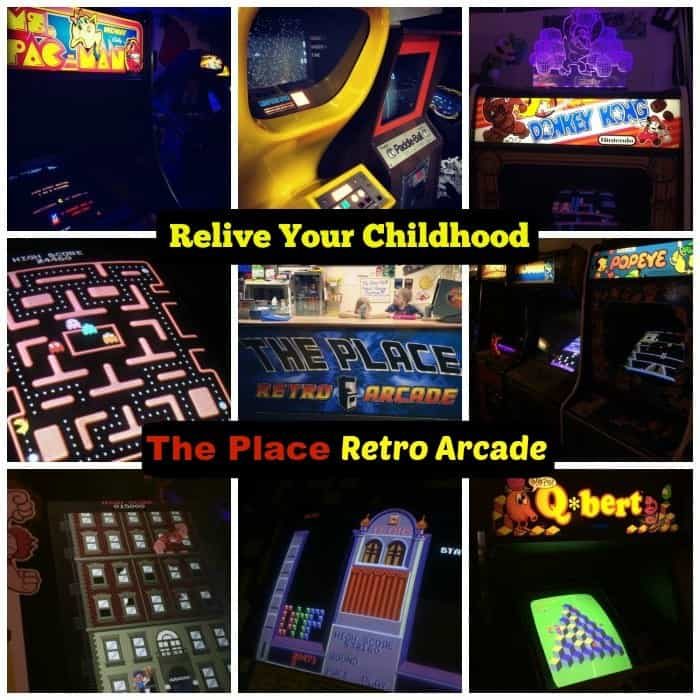 Relive Your Childhood at The Place Retro Arcade