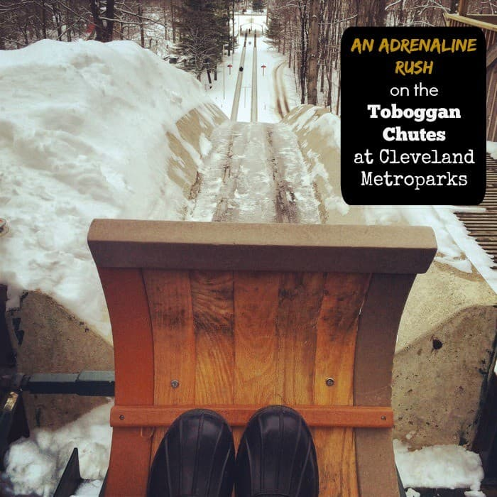 An Adrenaline Rush on the Toboggan Chutes at Cleveland Metroparks