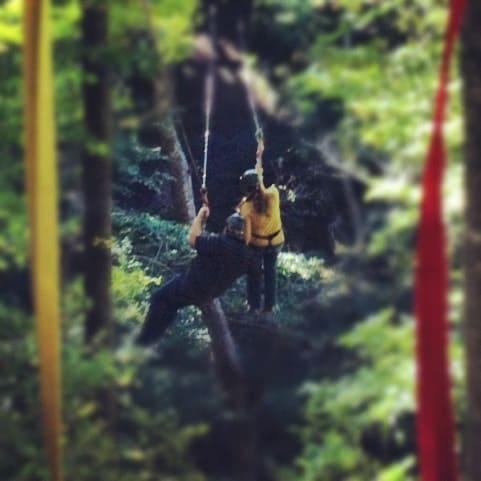 double zipline