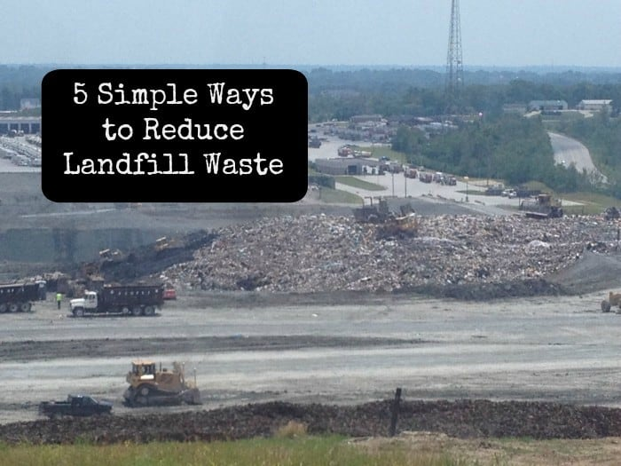 5 ways to reduce landfill waste