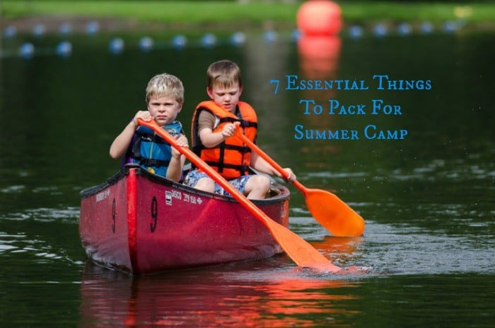 7 Essential Things to pack for Summer Camp cover