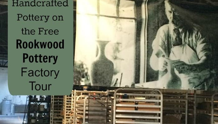Learn About Handcrafted Pottery on the Free Rookwood Pottery Factory Tour
