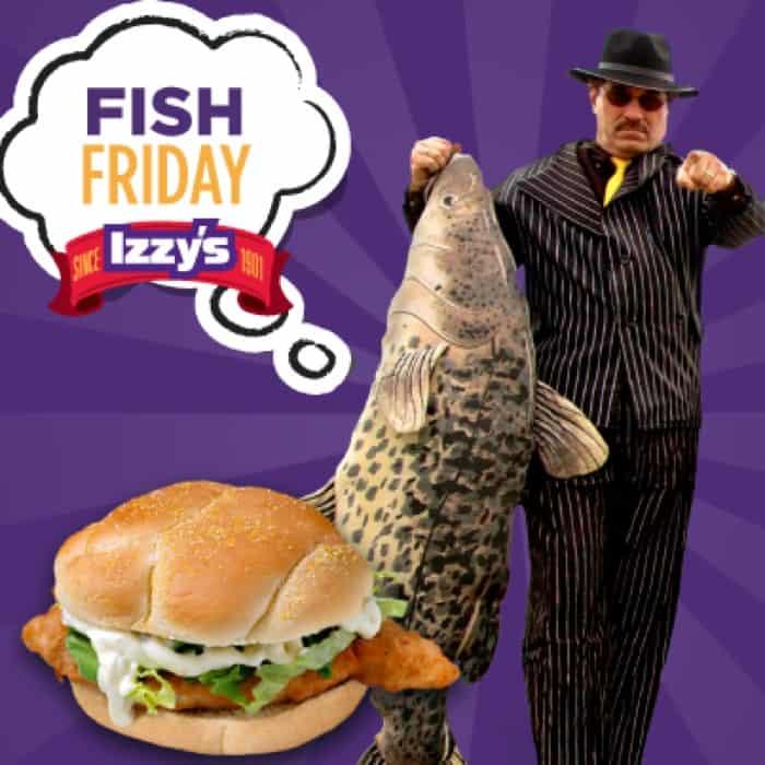 Izzy's Lenten Cod Special