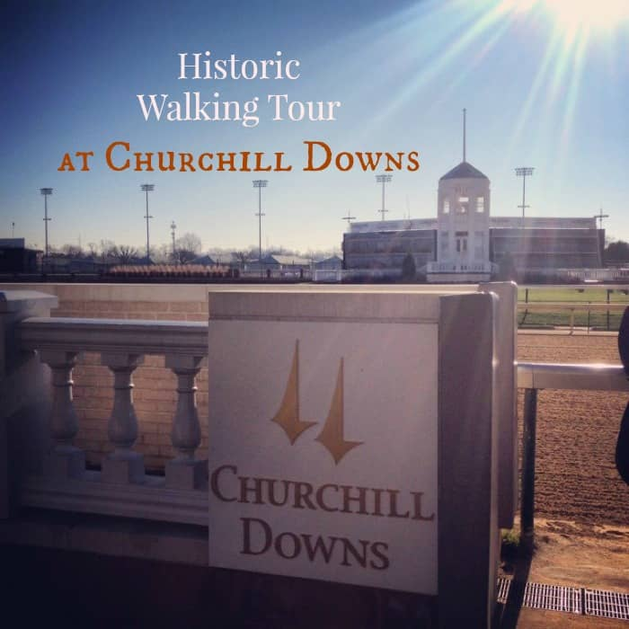 Historic Walking Tour at Churchill Downs Cover