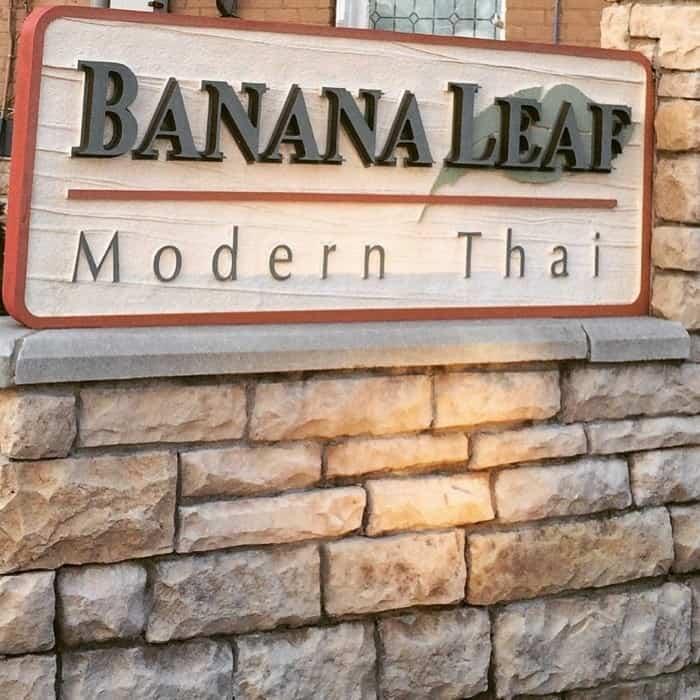 Banana Leaf Modern Thai Mason, OH