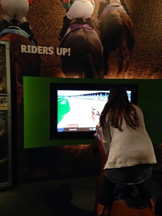 Racing Game at Kentucky Derby Museum