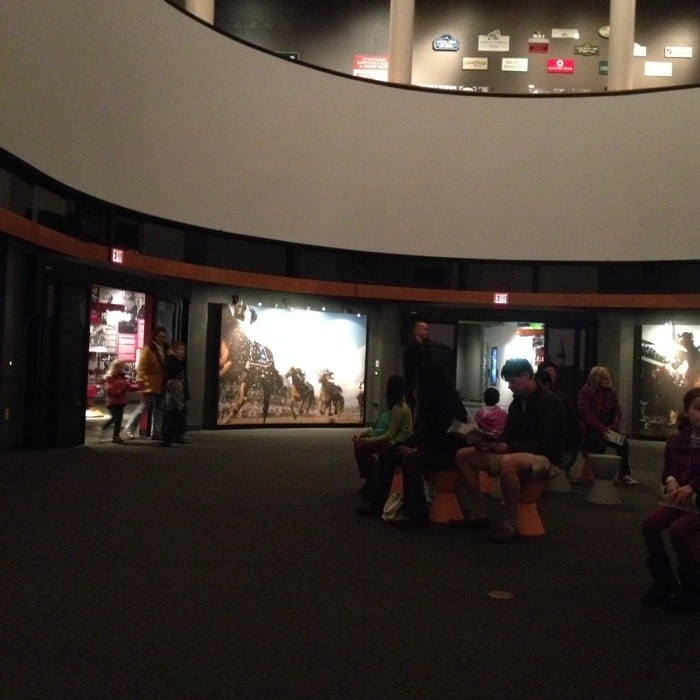 Racing movie at Kentucky Derby Museum