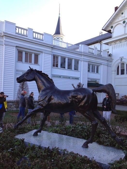 Horse Statue at Kentucky Derby Museum