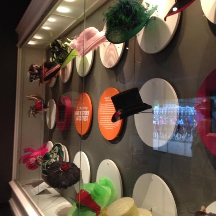 Derby Hats at Kentucky Derby Museum