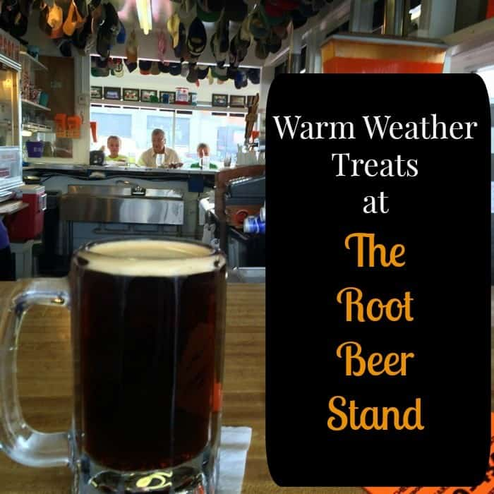 Warm Weather treats at The Root Beer Stand