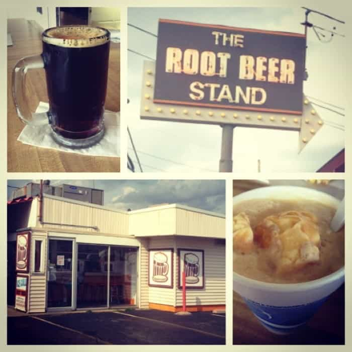 drinks at The Root Beer Stand