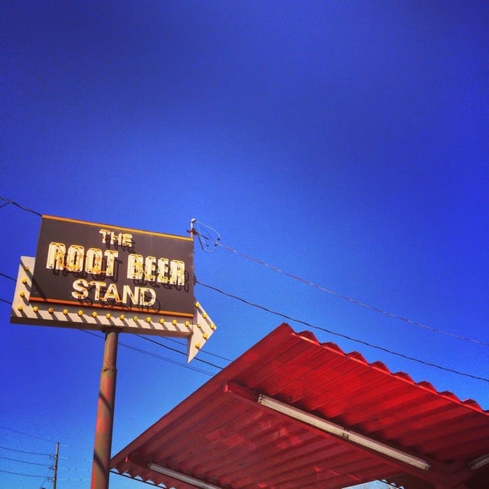 Vintage sign Root Beer Stand