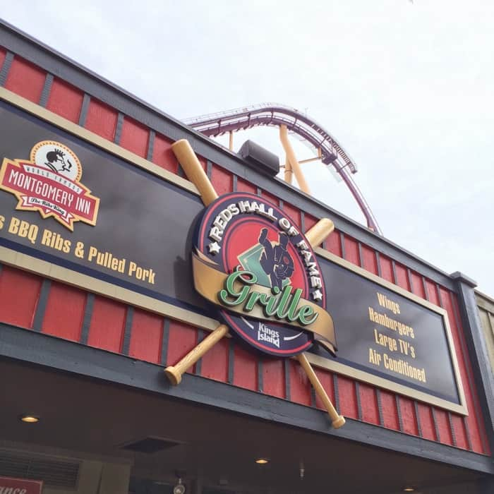 Reds Hall of Fame Grill All Season Dining Plan at Kings Island