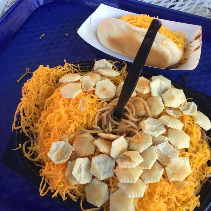 Skyline Chili on the All Season Dining Plan at Kings Island
