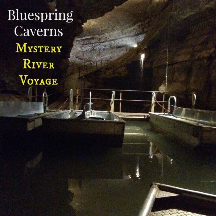 Bluespring Caverns Mystery River Voyage cover
