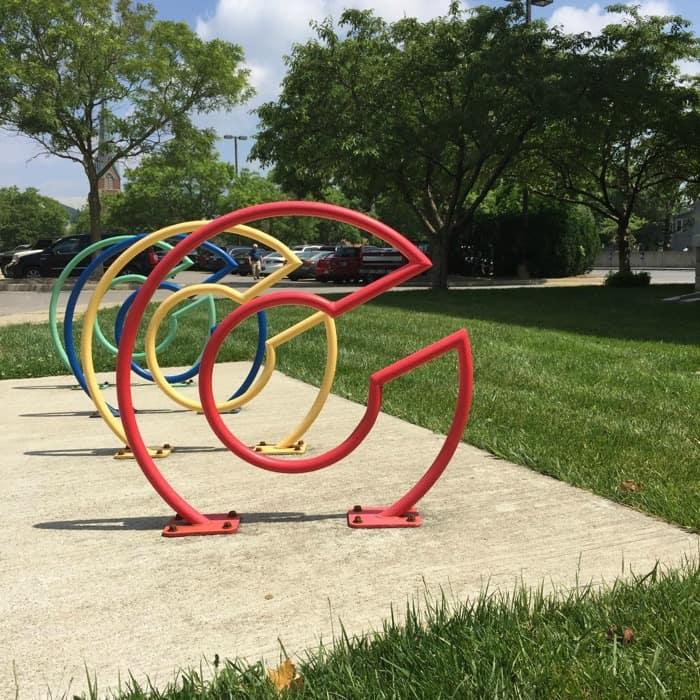 Columbus Indiana Bike Rack