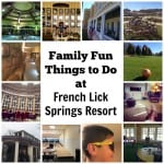 Family Fun Things to do at French Lick Spring Resort