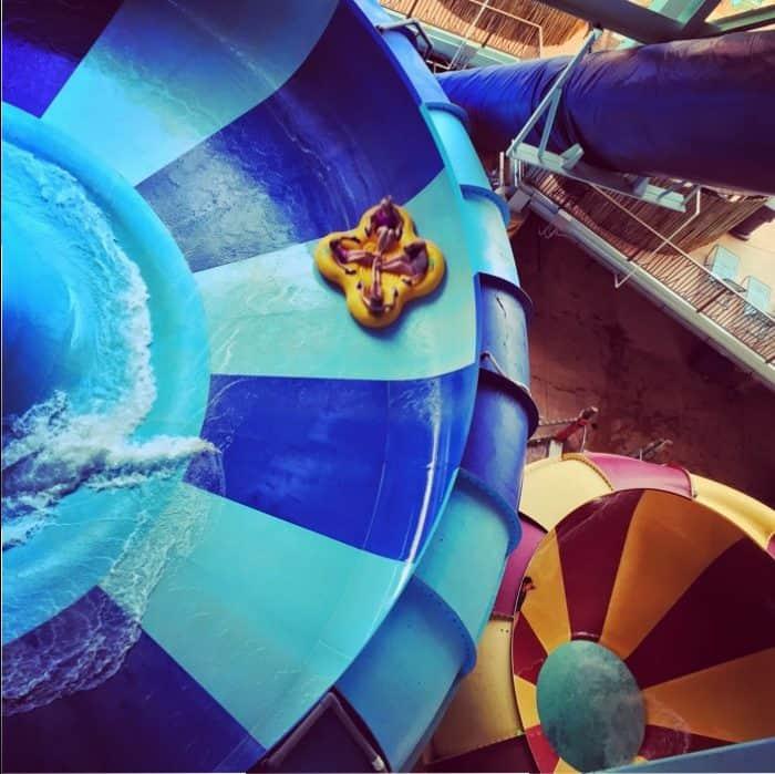 Indoor water park at Kalahari Resort in Sandusky, OH