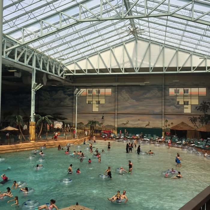 Indoor water park at Kalahari Resort in Sandusky, OH