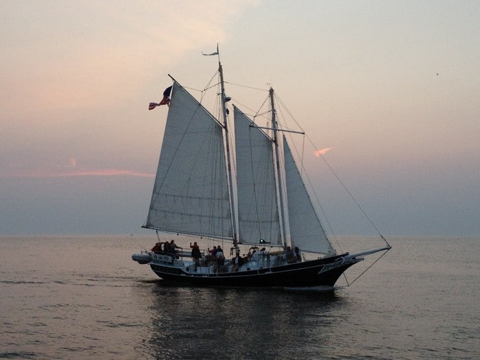 Tallship in South Haven Michigan