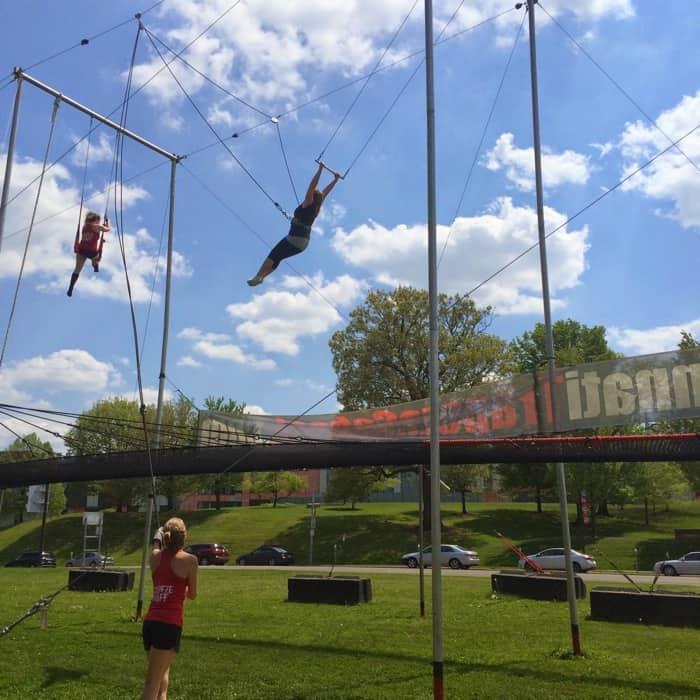Trapeze with Cincinnati Circus Company11
