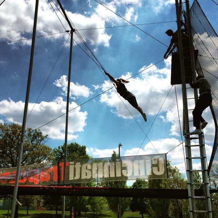 Trapeze with Cincinnati Circus Company13