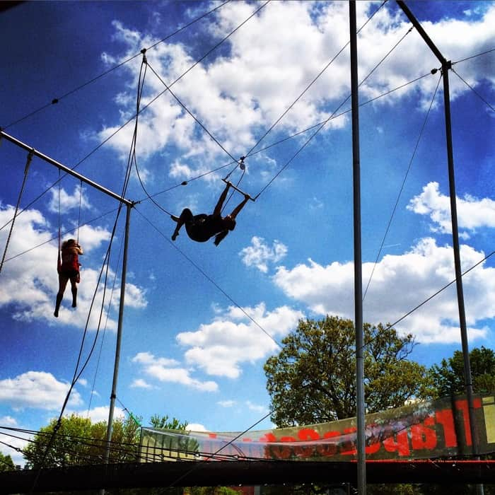 try the Trapeze with Cincinnati Circus Company