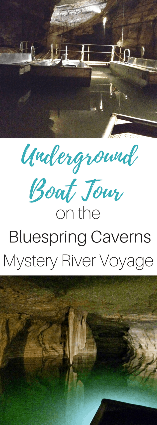 Underground Boat Tour On The Bluespring Caverns Mystery