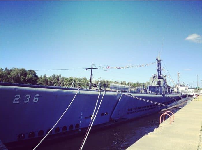 submarine in Muskegon