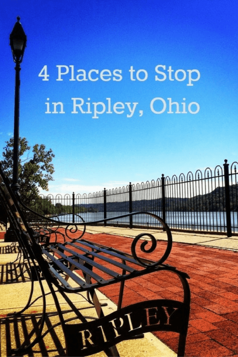 4 places to stop in Ripley Ohio