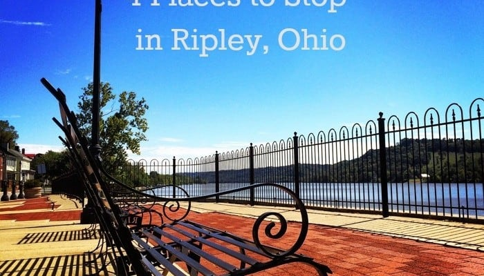 4 Places to Stop in Ripley, Ohio