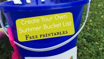 Create Your Own Summer Bucket List – Free Printables