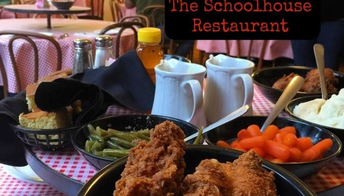 Dining in a Former Classroom at The Schoolhouse Restaurant