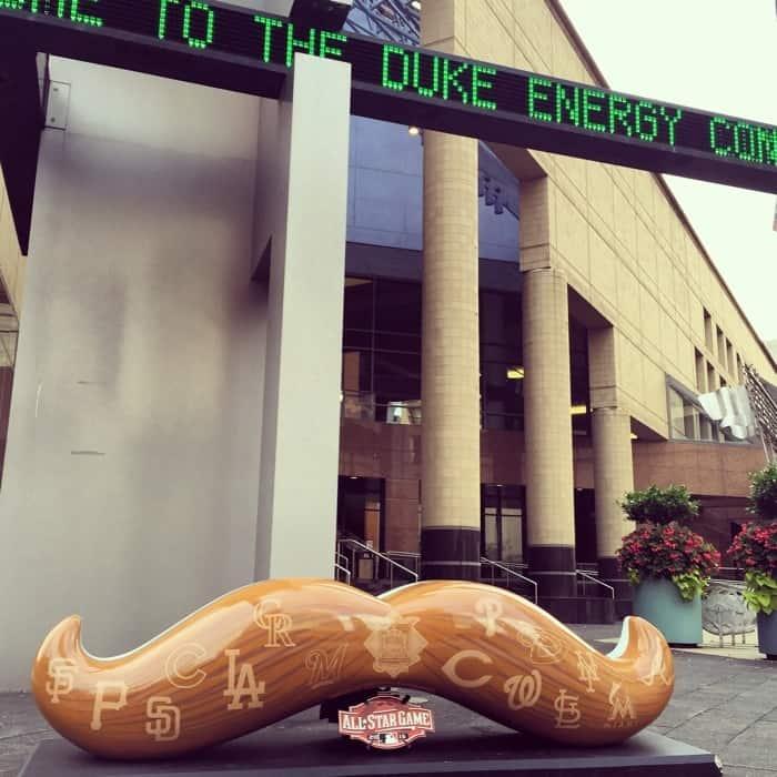 Duke Energy Mustache