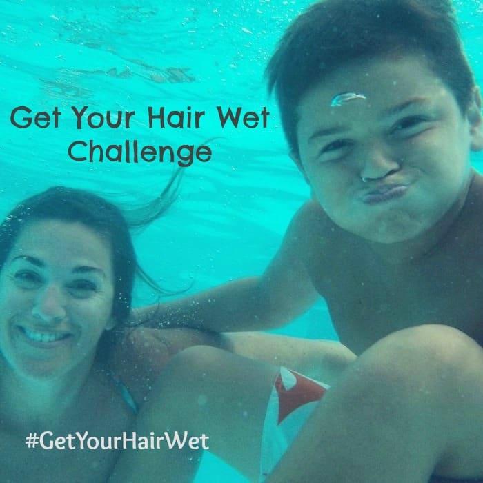 Get your hair wet challenge - #GetYourHairWet