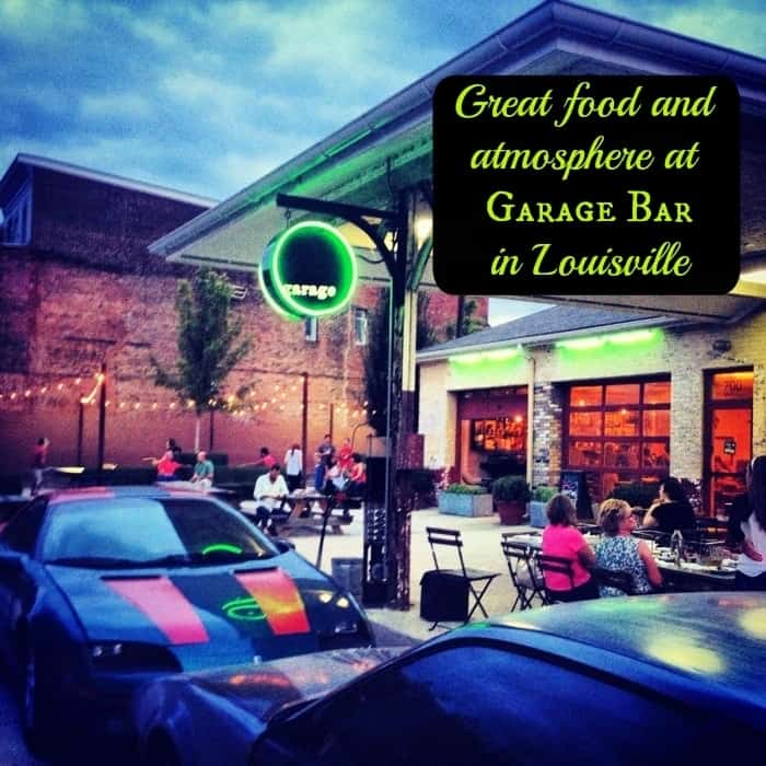 Great food and atmosphere at Garage Bar in Louisville 2
