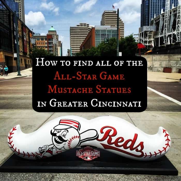 How to find all of the All-Star Game Mustache Statues in Greater Cincinnati