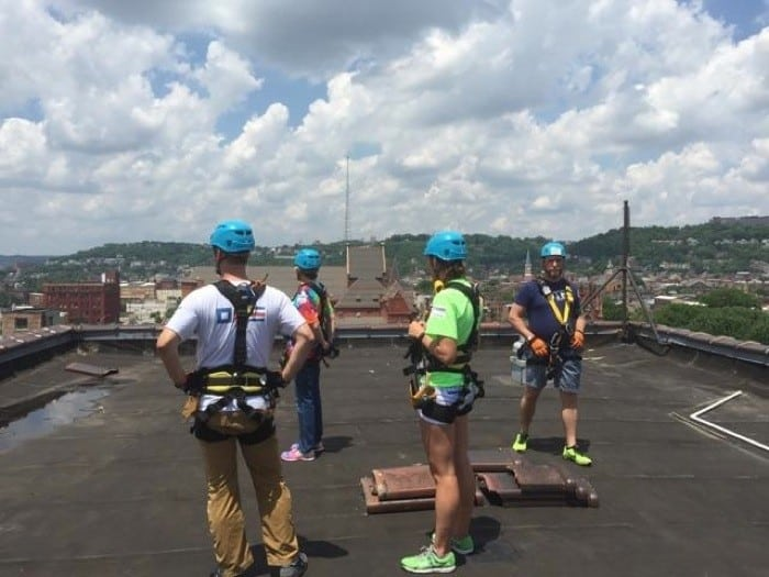 Over the Edge Rappel 11