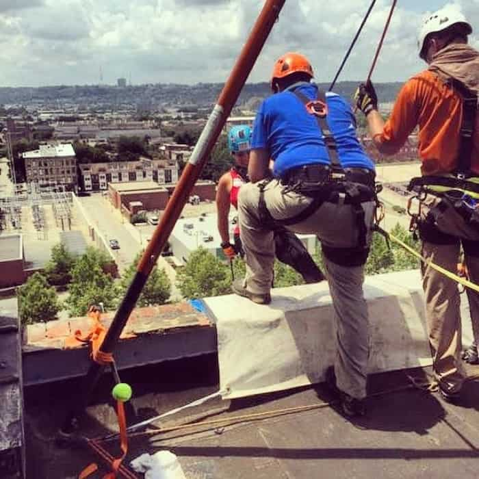 Over the Edge Rappel 7