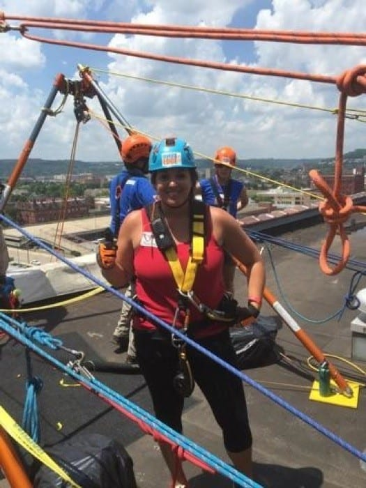 Over the Edge Rappel 8