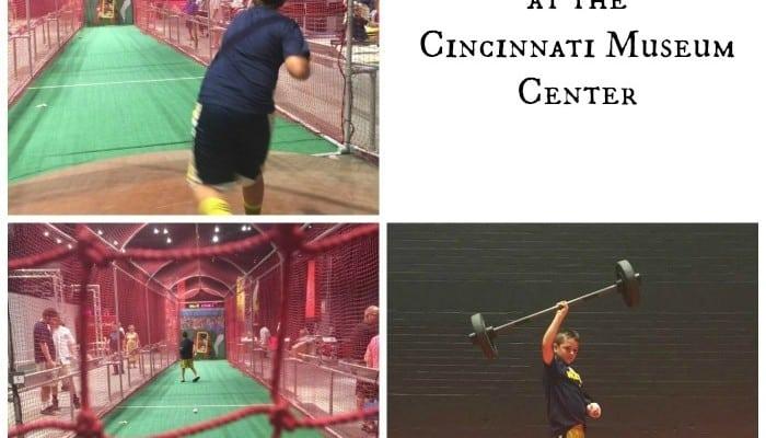 Science of Sports Exhibit at the Cincinnati Museum Center