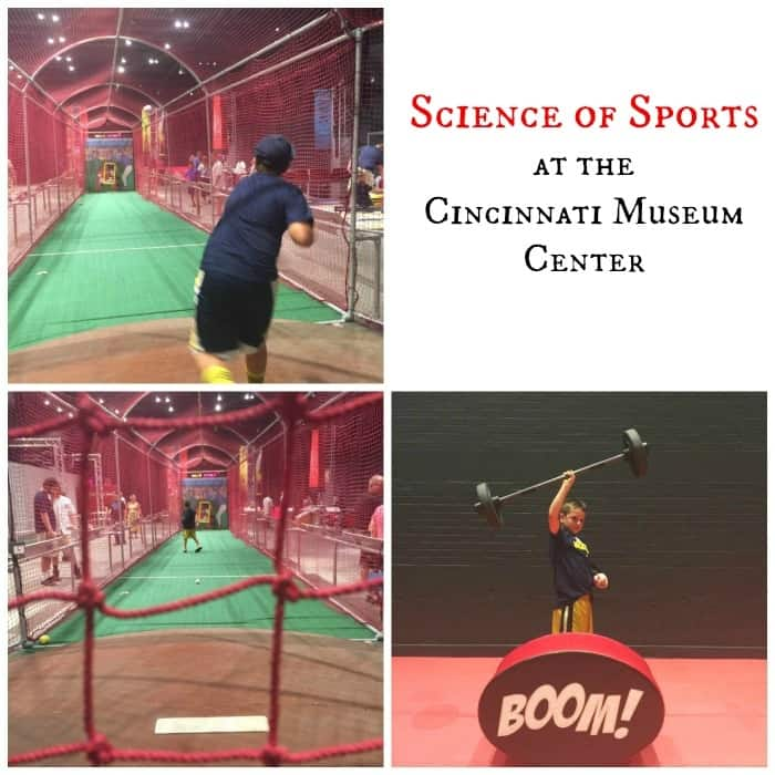 Science Of Sports Exhibit At The Cincinnati Museum Center