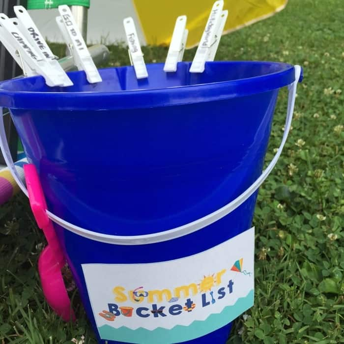 Summer Bucket List 12