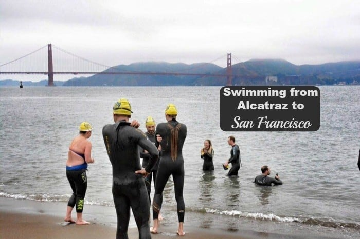 Swimming from Alcatraz to San Francisco