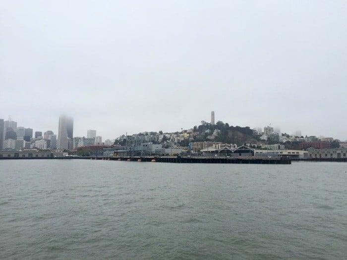 Swimming from Alcatraz to San Francisco