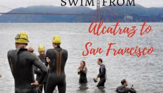 What it's like to swim from Alcatraz to San Francisco