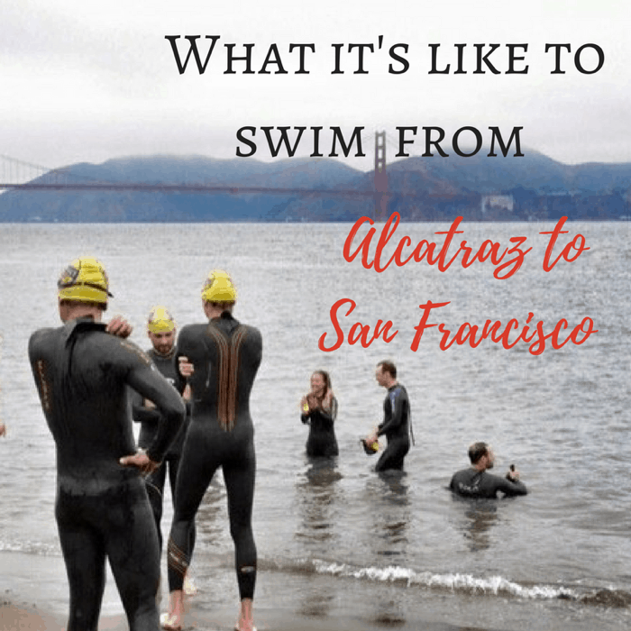 What it's like to swim from Alcatraz to San Francisco