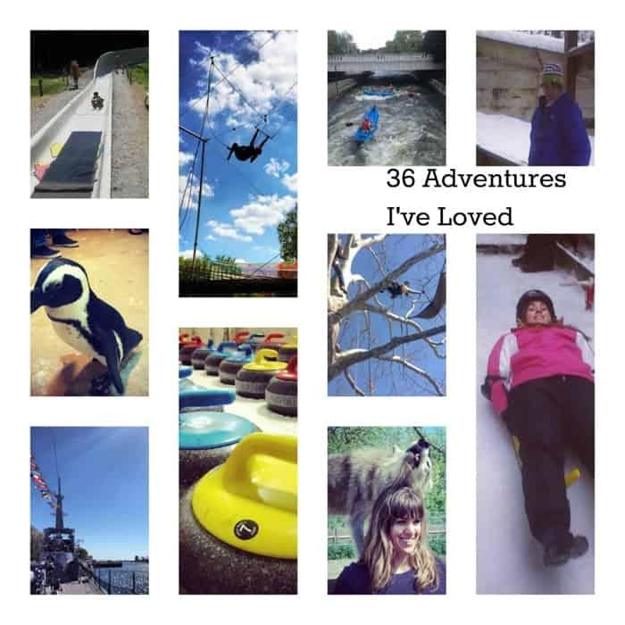 36 Adventures I've loved