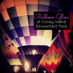 Balloon Glow at Coney Island Amusement Park