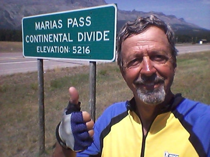 Continental Divide behind me!